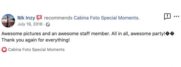 reviews photo booth special moments iasi
